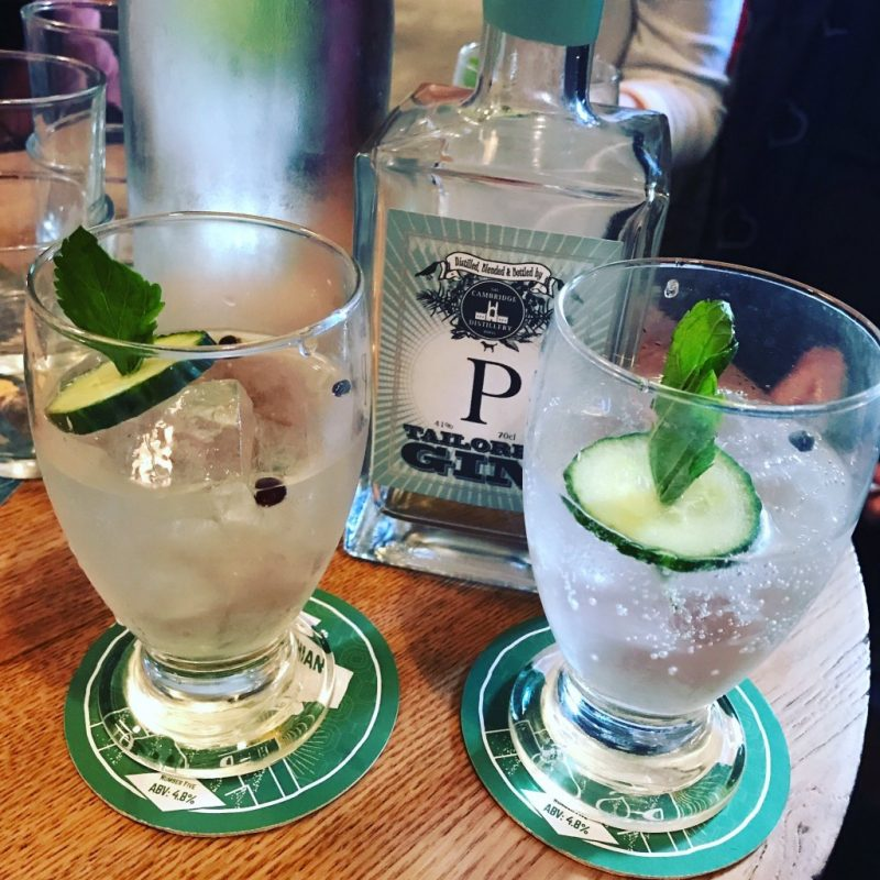 Food and drink events Gin tasting